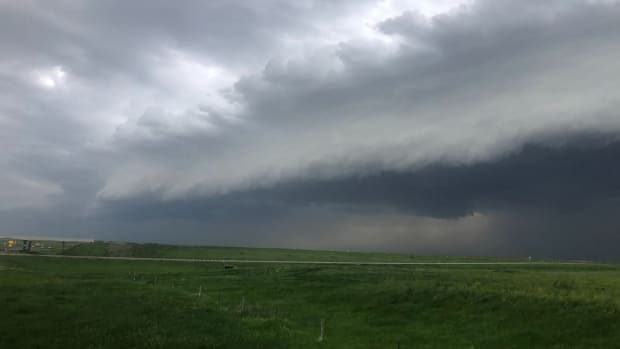 storm, shelf cloud, severe weather