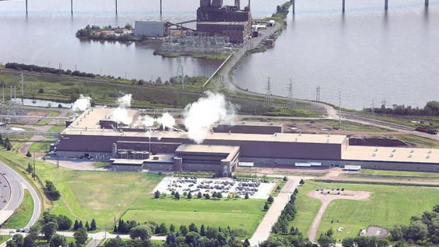 verso Duluth Mill arial