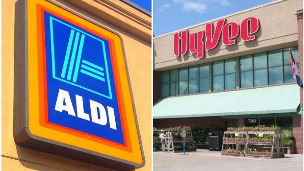 ALDI and Hy-Vee stores