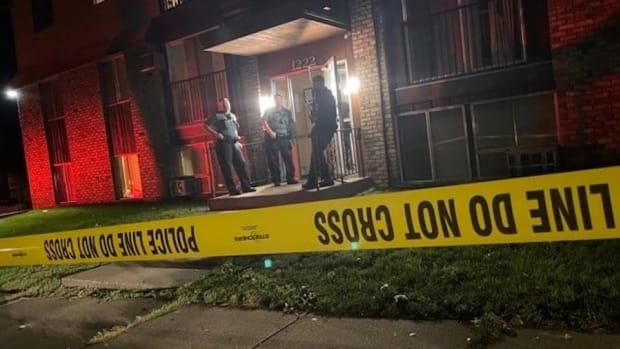 St. Paul shooting scene on 9/24/21.