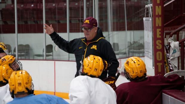Bob Motzko, Gophers hockey