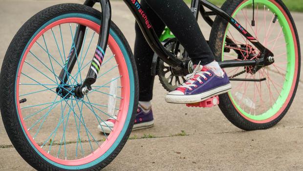 unsplash bike child close