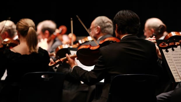symphony, orchestra, music, theater