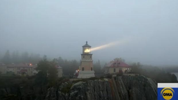 split rock lighthouse, gma