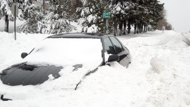 Sharon Mollerus - duluth - snow plow car