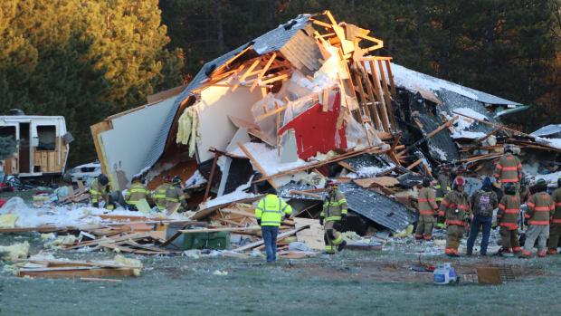 Cambridge house explosion