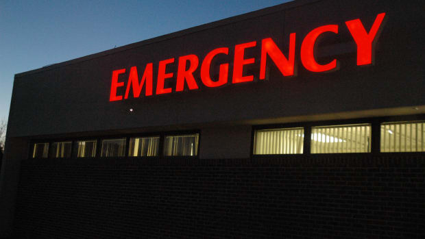 hospital, emergency room