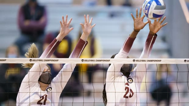 Gopher volleyball