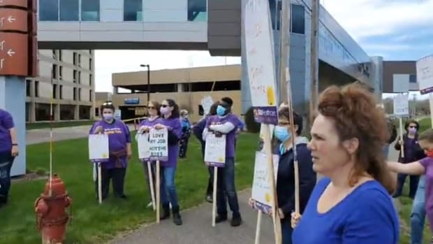 SEIU healthcare allina workers strike