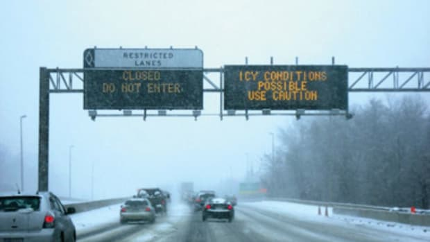 mndot winter highway dms alert