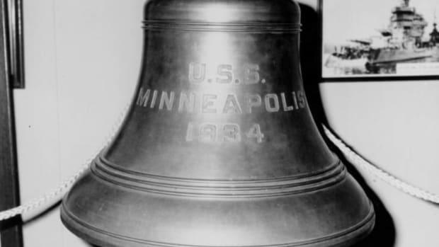uss minneapolis bell