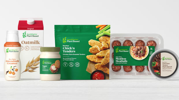 Target - good and gather plant based
