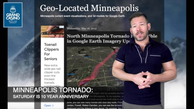 May 21 Weather With Sven: The Minneapolis tornado 10 years on