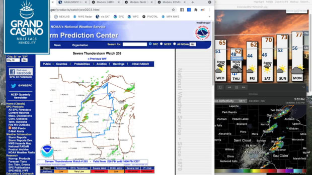 May 25 Novak Weather: Severe weather potential Tuesday evening