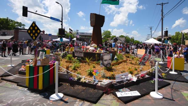 Flickr - George Floyd Square, May 25, 2021