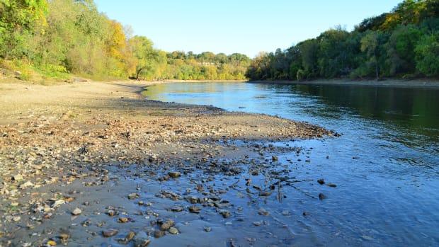 hidden falls regional park - mississippi river