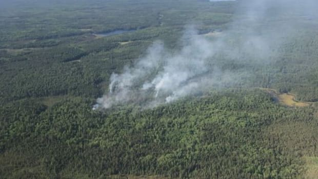 Facebook - Hassel Fire - Superior National Forest