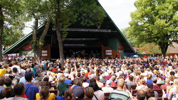 minnesota state fair bandshell concert