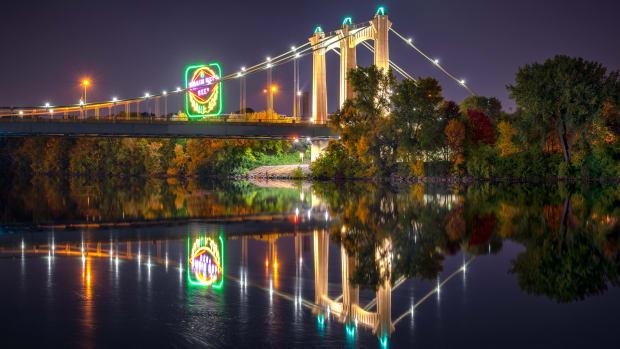 Flickr - Minneapolis bridge Grain Belt sign - Chad Davis