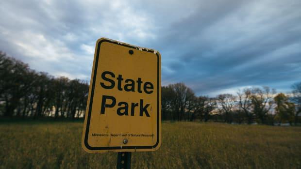 Flickr - state park sign - Tony Webster