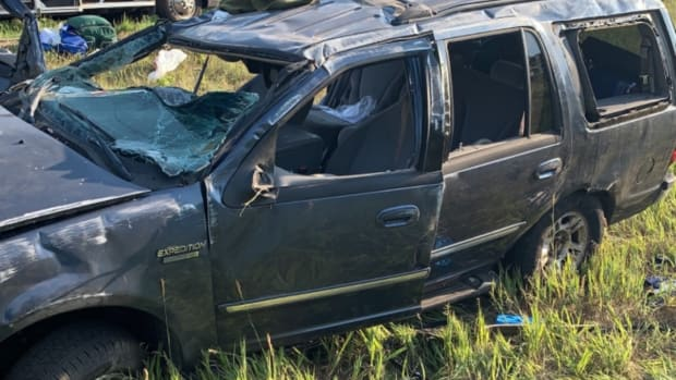 Stearns County Sheriff - County Road 9 crash - 07.05.21 - CROP