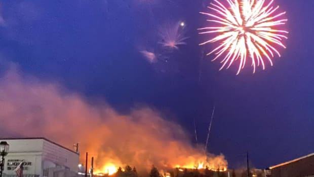 Al Jensen - Eveleth fireworks fire - 2