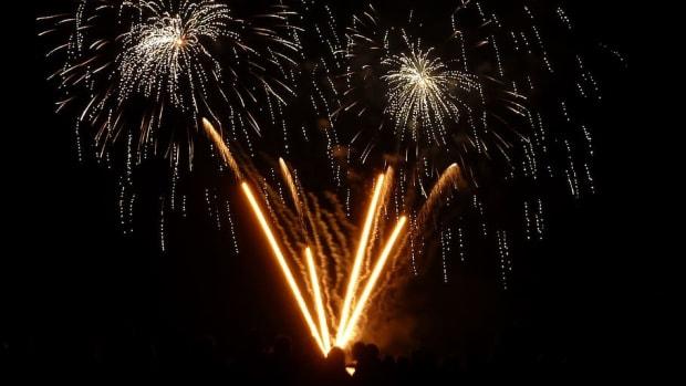 Firework mortar