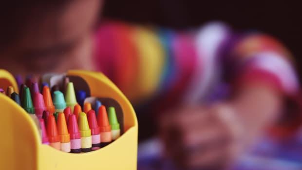 kids children crayons