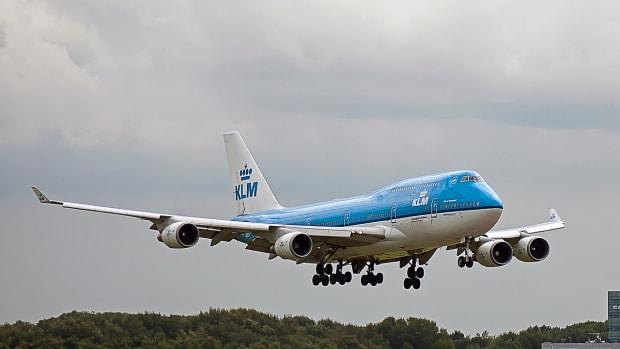 Pixabay - KLM airplane flight