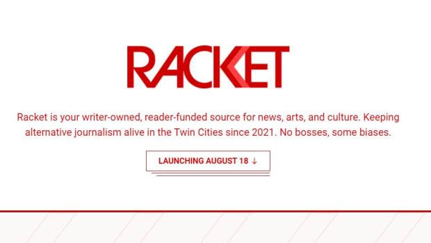 Racket website screengrab aug 2
