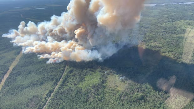 Greenwood wildfire