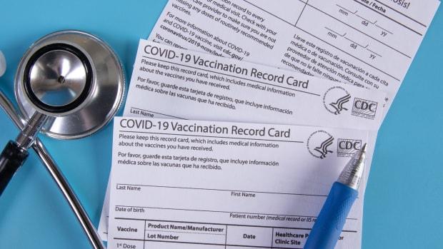 Flickr - COVID vaccine record card - Jernej Furman
