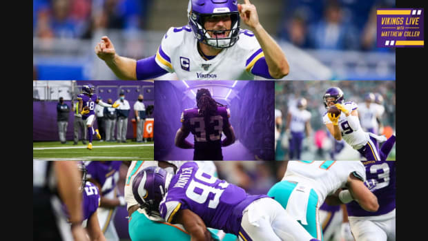 Vikings range of outcomes for Kirk Cousins, Justin Jefferson, Dalvin Cook and more