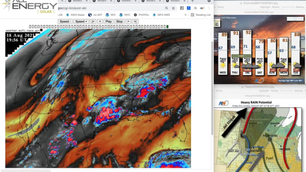 Aug. 18 Novak Weather: Potential for significant rain