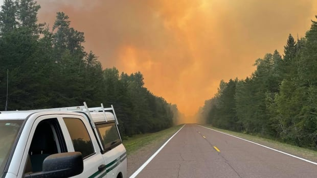 Facebook - Greenwood Fire Aug 20 - US Forest Service