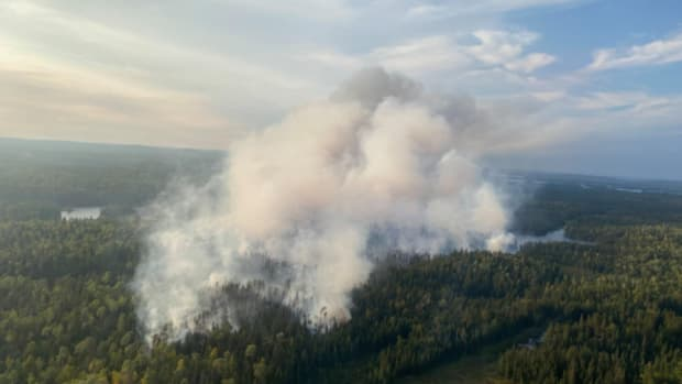Fire in the Boundary Waters