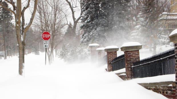 blizzard, snow