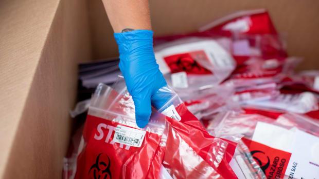 Flickr - COVID testing specimen bags