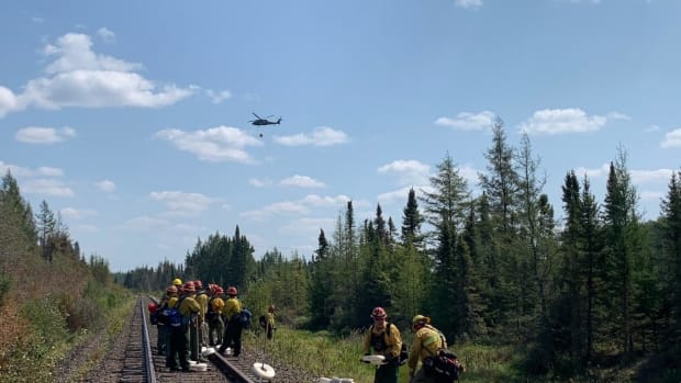MNICS - Greenwood Fire - Colorado River crew Aug 22 2021