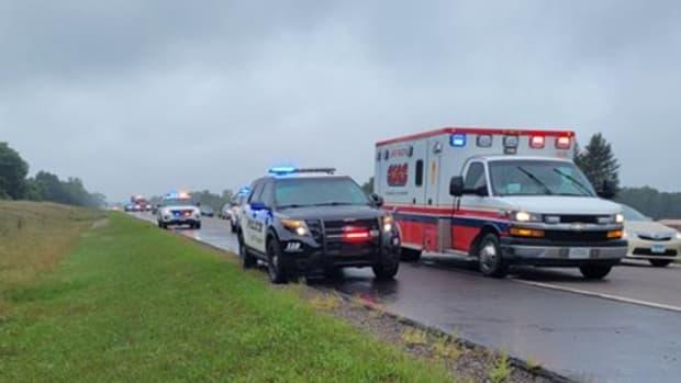 Twitter - Chisago Co Sheriff - 35 Crash Sept 3 2021