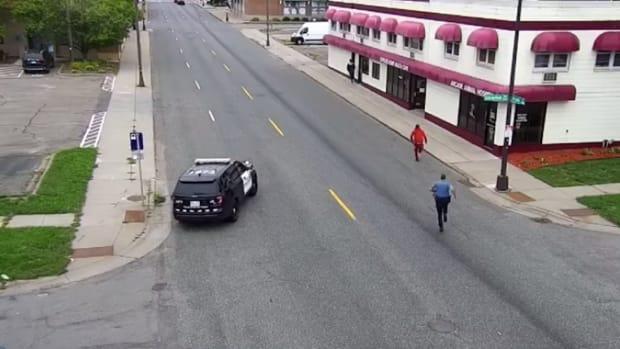 Police pursuit in St. Paul