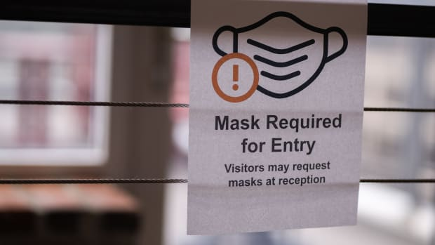 Flickr - mask required entry sign - Chad Davis