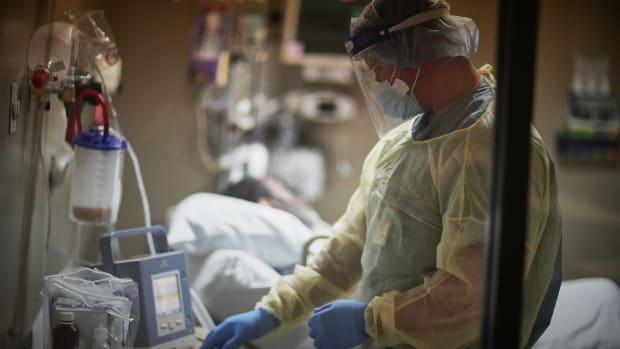 hospital ICU bed Flickr