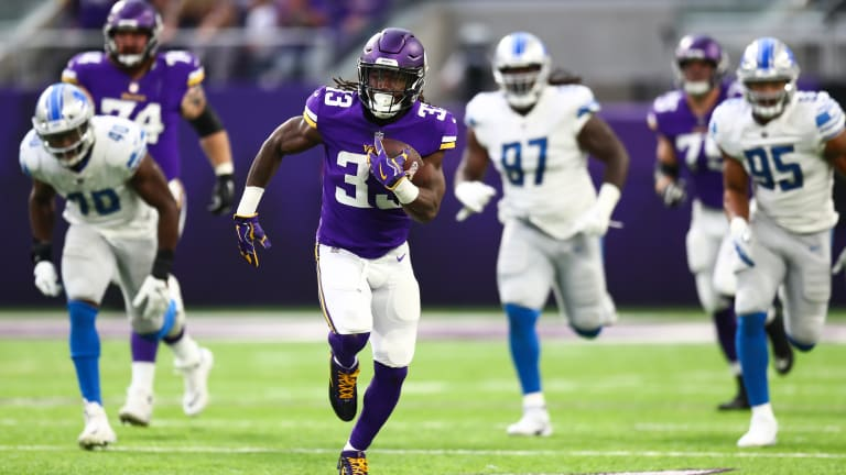 Dalvin Cook playing through pain, Anthony Barr ready to return to Vikings