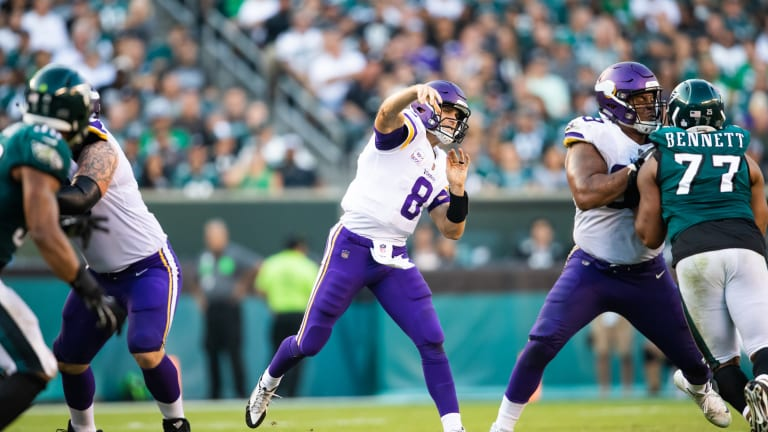 Kirk Cousins needs to let it fly against the Cardinals