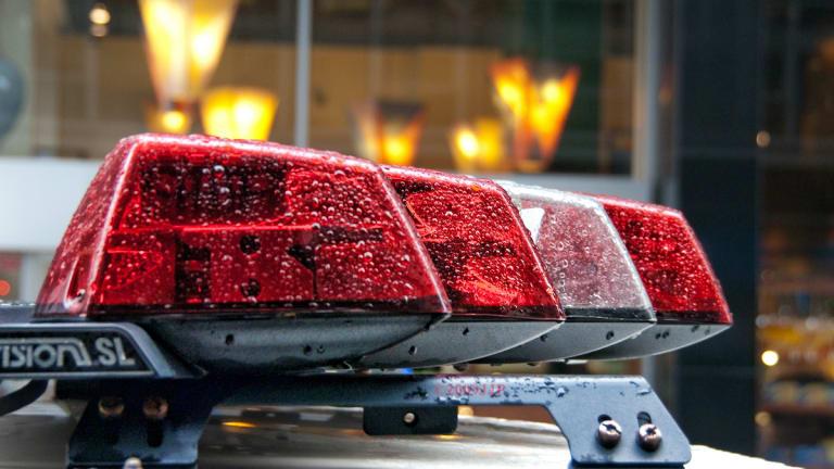Man in custody after shooting at police near high school in Oakdale