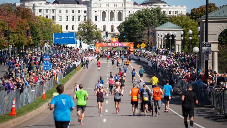 Face masks require indoors, at start and finish lines during Twin Cities Marathon weekend