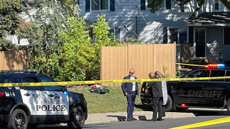 Man who allegedly shot at police in Mounds View dies from injuries after being struck by squad vehicle