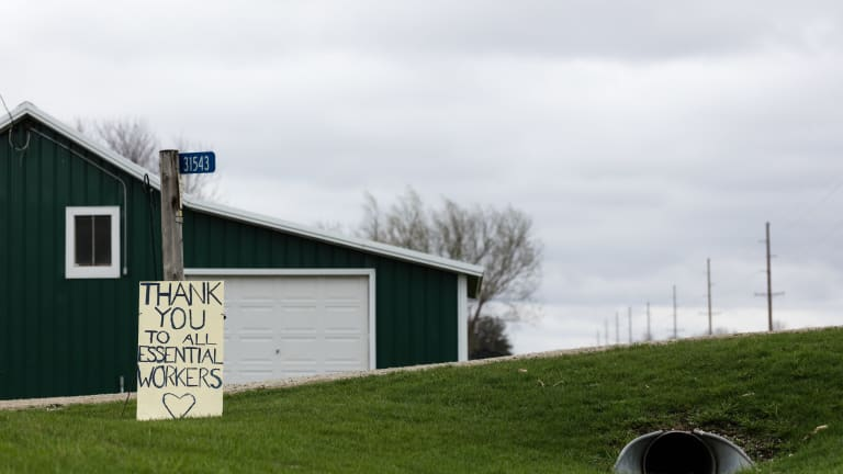 Highest county case rates in Minnesota remain in rural areas