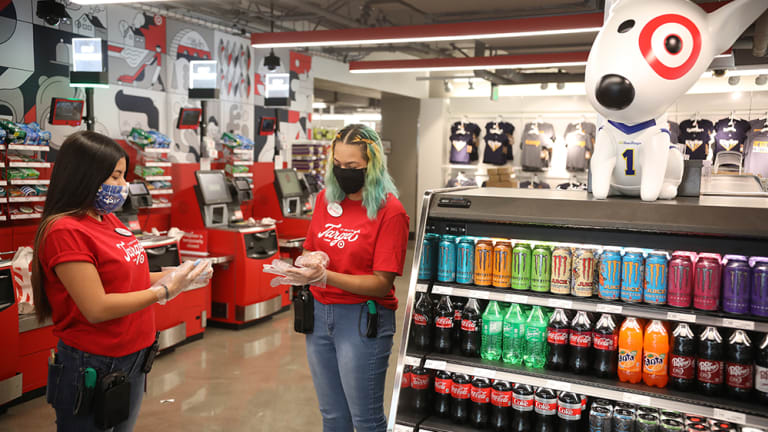 Target is giving hourly workers a pay bump during the busy holiday season